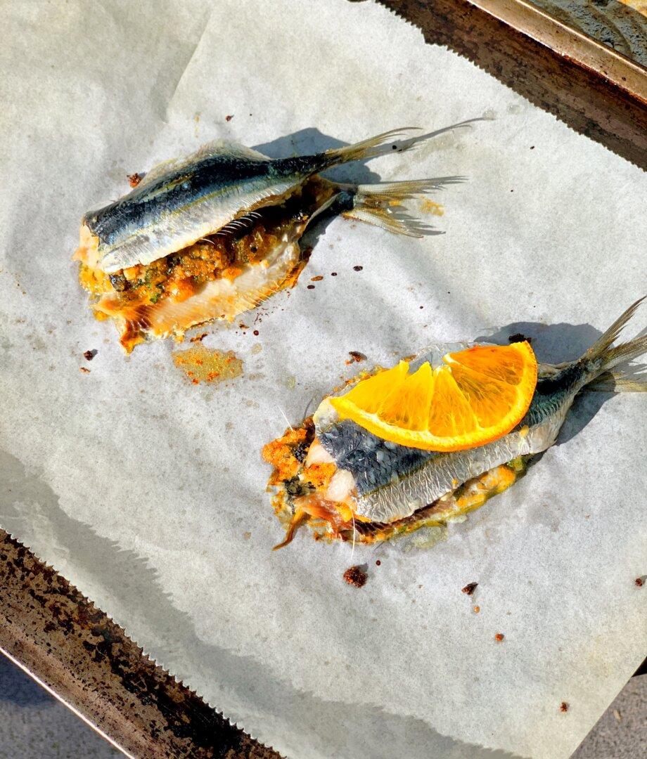 Sarde a Beccafico – Stuffed Sardines